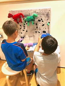 Chagall paintings with interactive activities