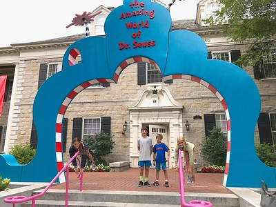 Entrance to the Dr. Seuss Museum