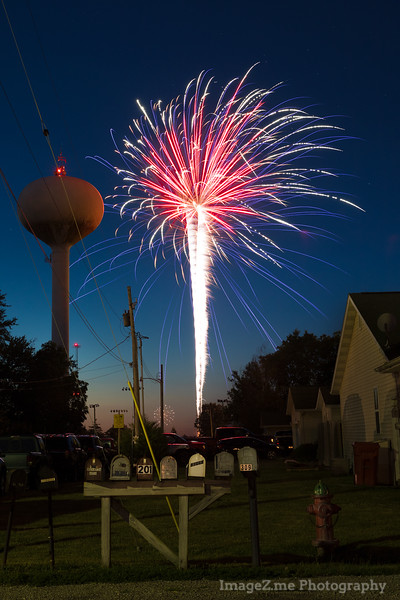2017 July 4th, Athens, IL