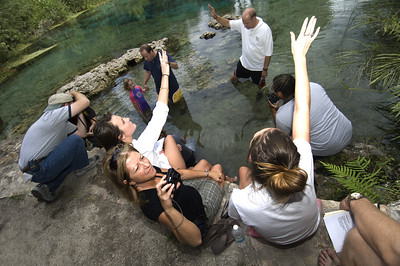 Faithful gather at Ichetucknee Springs State Park to commit teir lives to Jesus on Baptism Sunday.