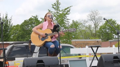 "Liz Faith sings at ""Springtime Ellaville"", April 14, 2018"