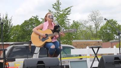 "Liz Faith sings at ""Springtime Ellaville"", April 14, 2018"