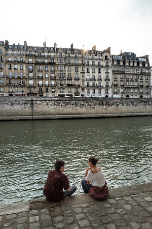 2018, Paris, Seine River