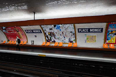 2018, Paris, Subway