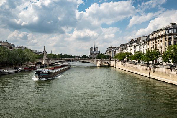 2018, Paris, Seine River