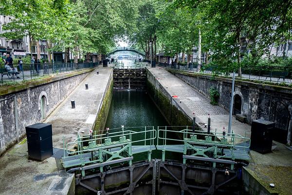 2018, Paris, Canal Saint-Martin