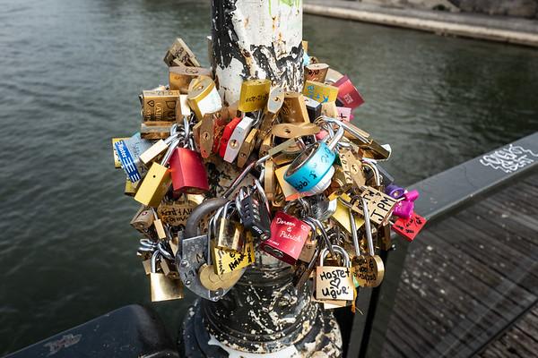 2018, Paris, Seine River Bridge