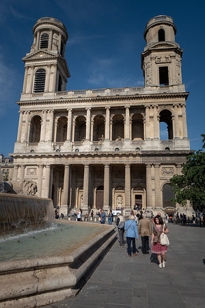 2018, Paris, Church of Saint-Sulpice