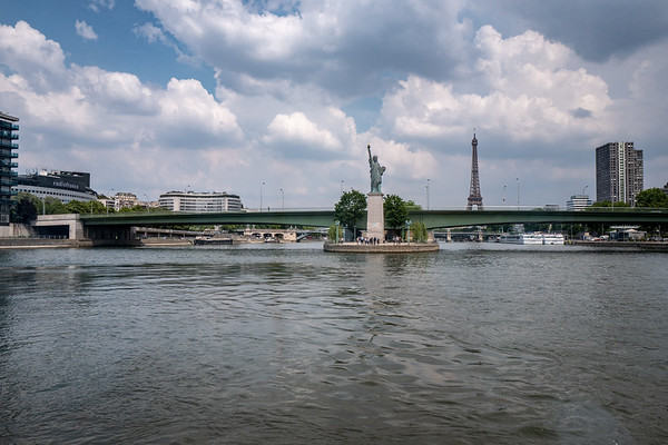 2018, Paris, Eiffel Tower, Seine River