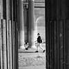 2018, Paris, Entrance to Le Louvre courtyard