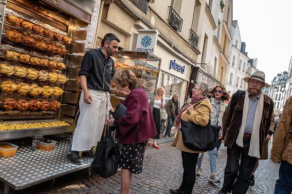 2018, Paris, Rue Mouffetard