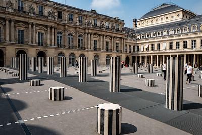 2018, Paris, Colonnes de Buren
