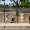 2018, Paris, Playing Petanque