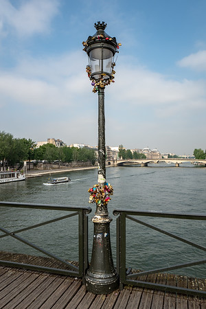 2018, Paris, Seine River Bridge