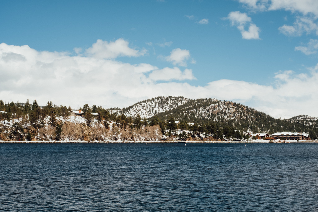 . Lake Estes with a dusting of snow. (Bob Wooley/Trail-Gazette)