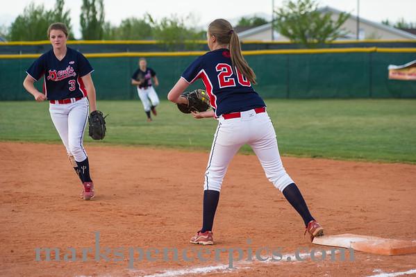 Springville Softball Groups 2013-167