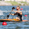 Teneale Hatton in the women's K1 1000m final
