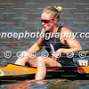 Teneale Hatton cooling off after winning the women's K1 1000m final by a hair