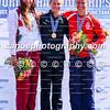 Women's K1 1000m medals (L-R): Tamara Csipes (HUN), Teneale Hatton (NZL), Dalma Benedek-Ruzicic (SRB)