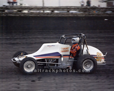 91 - Sammy Swindell in the FedEx 91