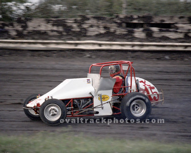 15 - Lee James in the Pettit sprinter