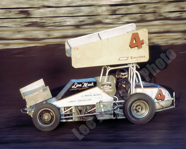 1980-1 Knoxville The first night Wolf drove the Howell's sprint