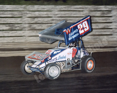 1984-07  Doug Wolfgang with the Weikert Livestock 29 at Knoxville