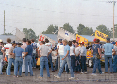1983 Knoxville National pits