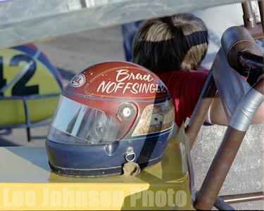 1982 Brad Noffsingers helmet