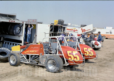 1982 Jeff Swindell's cars at Sunset Speedway