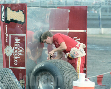 1983 Sammy grooving his own tires