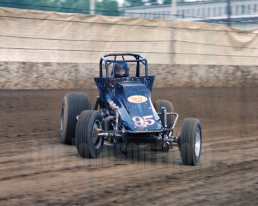 1981 Steve Ball  - USAC Indiana State Fairgrounds