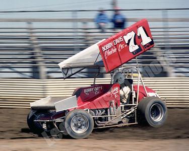 1982 Bobby Davis Jr , Sunset Speedway