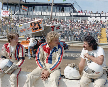 1982 Odessa I-70 with Steve Kinser and Jack Hewitt