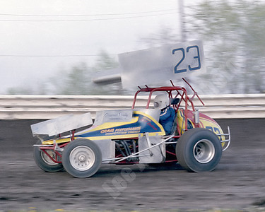 1981 Jerry Wiggs in Cliff Cockrum's ride - Granite City