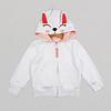 Hoodie Bright White Bunny