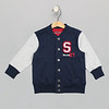 Varsity Jacket Heather Grey Sports Champ