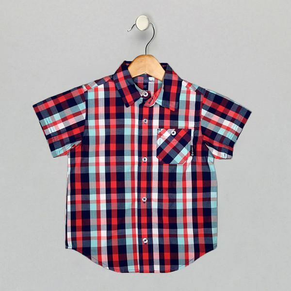 American Boy_Red Plaid_T6121SA