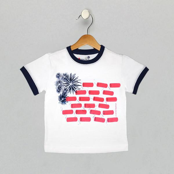 Americana Tee - Bright White Final