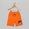 Varsity Knit Short - Orange