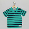 Polo Teal Blue_Black Iris