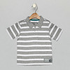 Polo_Heather Grey_Bright White