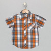 Camp Shirt_Orange Plaid