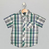 Camp Shirt_Plaid_Teal Blue
