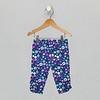 Capri Legging - Blue Floral