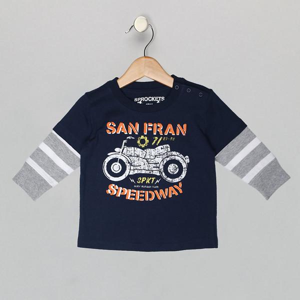 Boys SF speedway shirt
