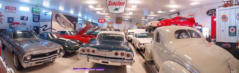 Ramseys Garage/Tom Brush's Garage 12-24-09