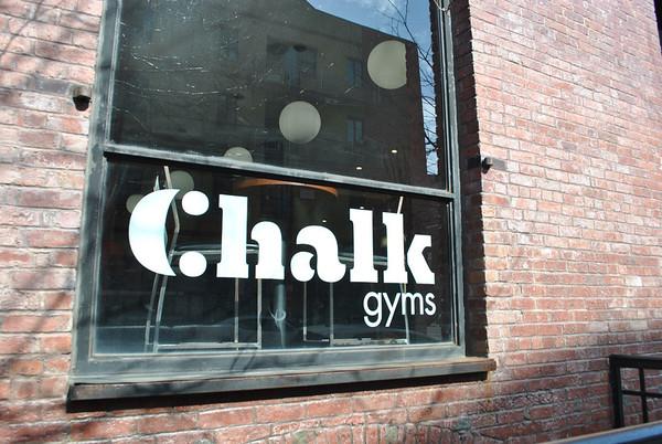 Chalk gym