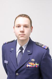 C/CMSgt Stephen Pfiester was promoted to C/2d Lt by Maj Greg Lane, Thursday, April 7, 2016.