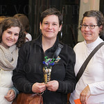 Mary and Jamie Stafanski with Linda Fuselier.
